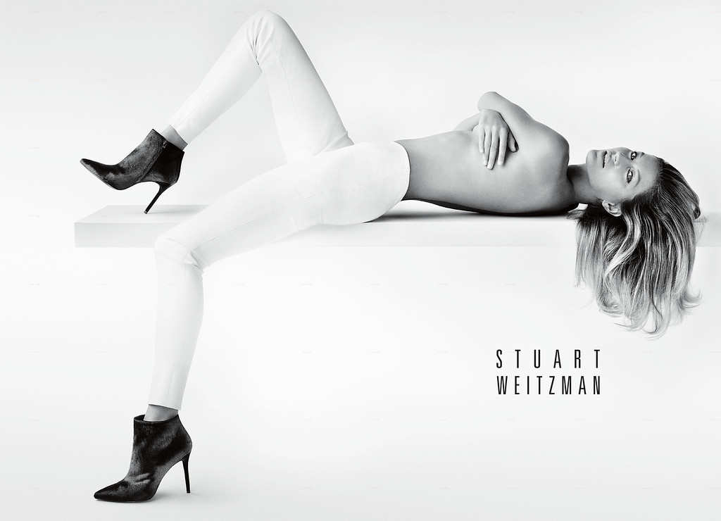 . Stuart Weitzman Announces Gisele Bundchen as the New Face of Its Fall 2014 Campaign. (PRNewsFoto/Stuart Weitzman)