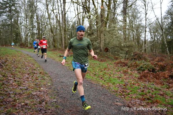 Frost Eagle 5 mile & Half Marathon Jan 20, 2018
