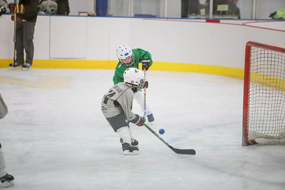2017-18 Mite 1 Green Hockey