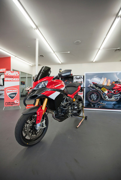 Pikes Peak International Hill Climb Ducati Multistrada 1200's - see the article HERE