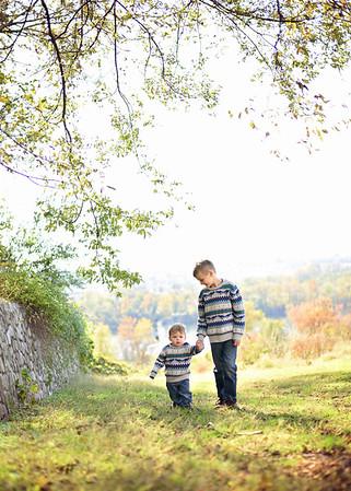 Joseph & Elijah {fall mini}