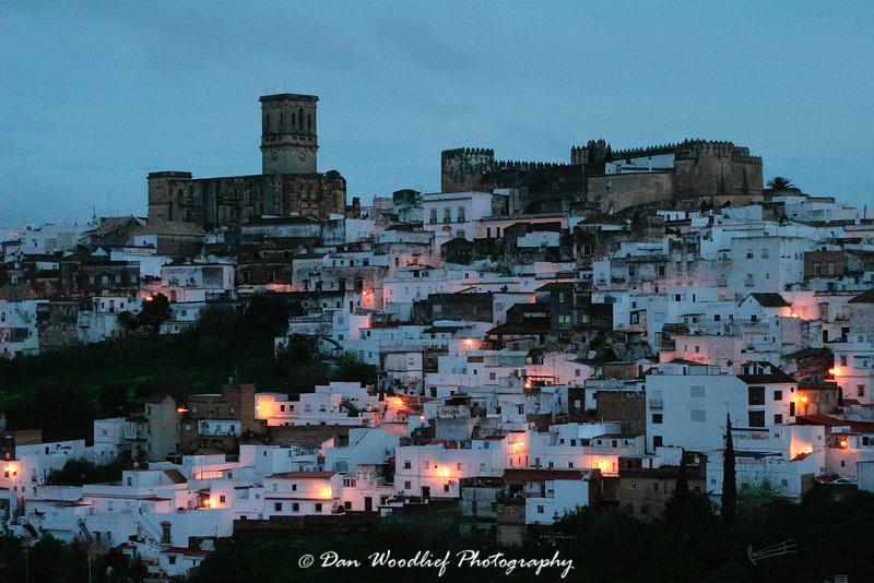 Twilight in Arcos.