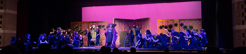 """No Bad News"" (Evillene & The Winkies) -- ""The Wiz"", Montgomery Blair High School spring musical, March 26, 2017"