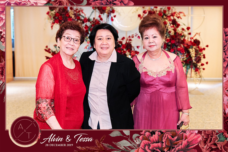 Wedding of Alvin & Tessa | © www.SRSLYPhotobooth.sg