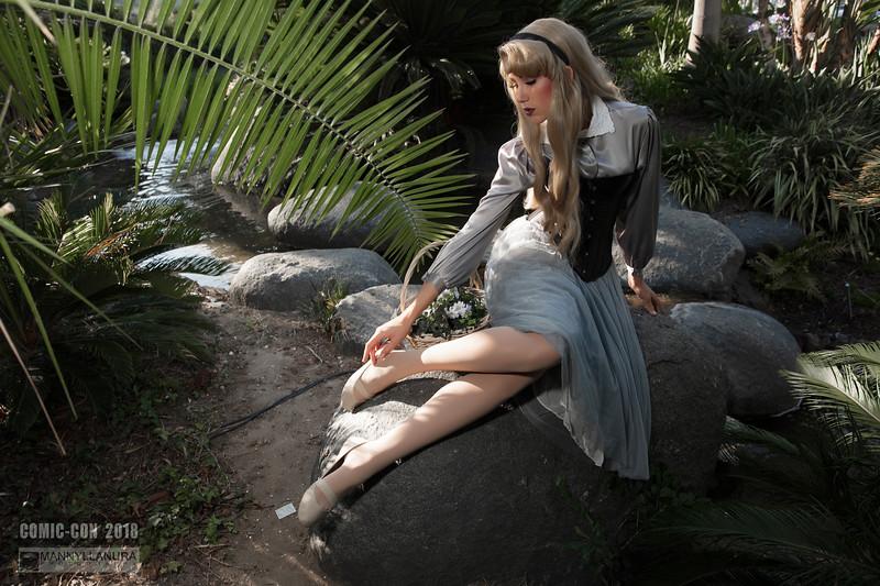 Princess Aurora Sleeping Beauty by Naomi