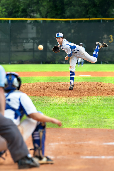 Westside vs. Regan Baseball