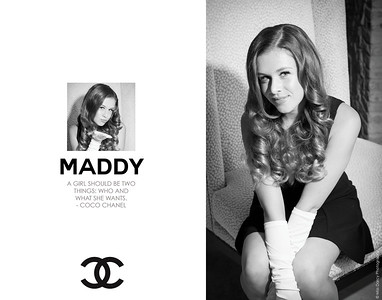 Mock Chanel Posters