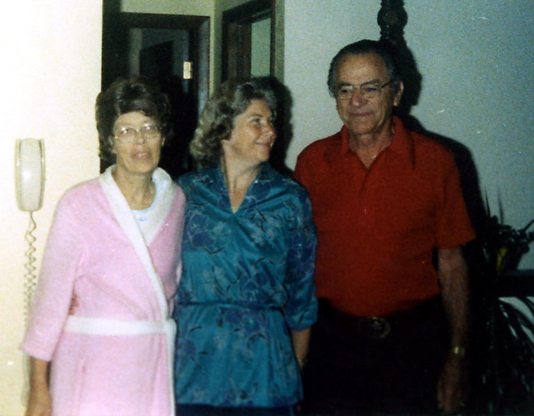 Joyce Phillips, Evelyn and Bud
