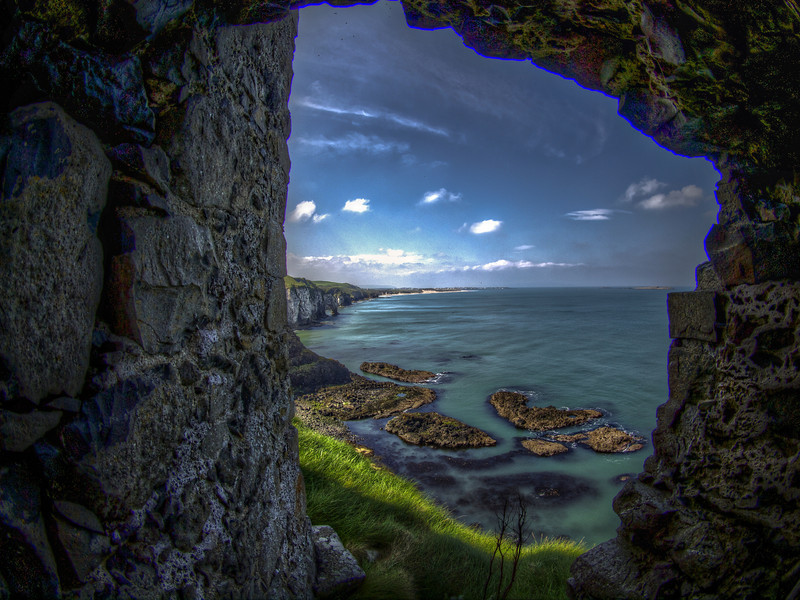 Dunluce Castle Overlook