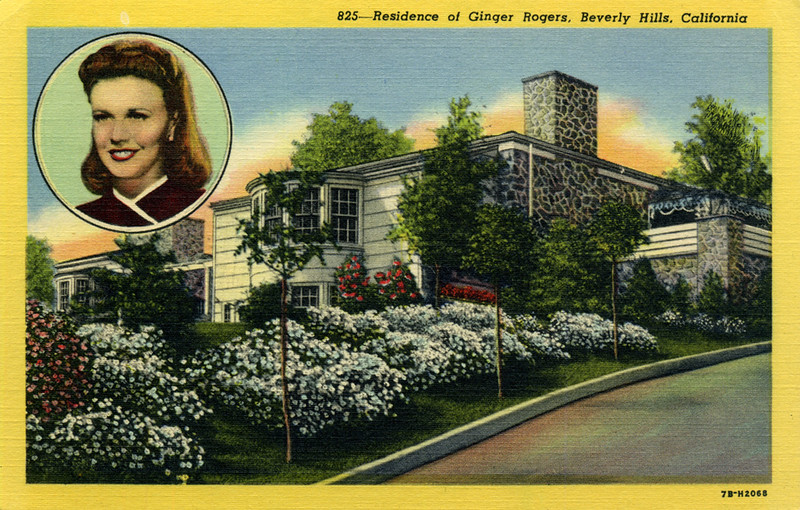Residence of Ginger Rogers