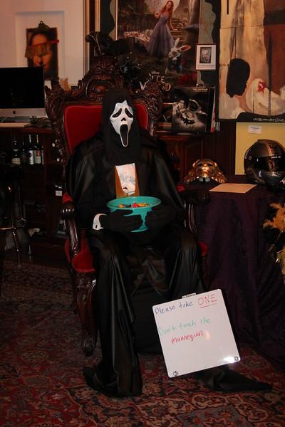 Josh Norman Halloween Party