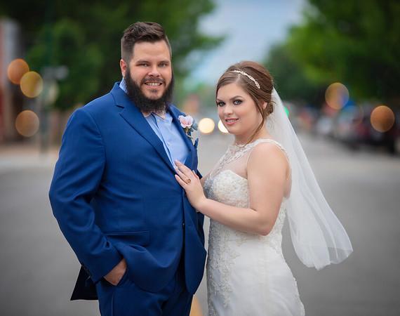 Travis and Michaela's wedding