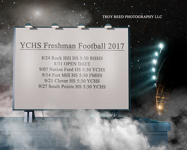 2017 Fall Sports Schedules