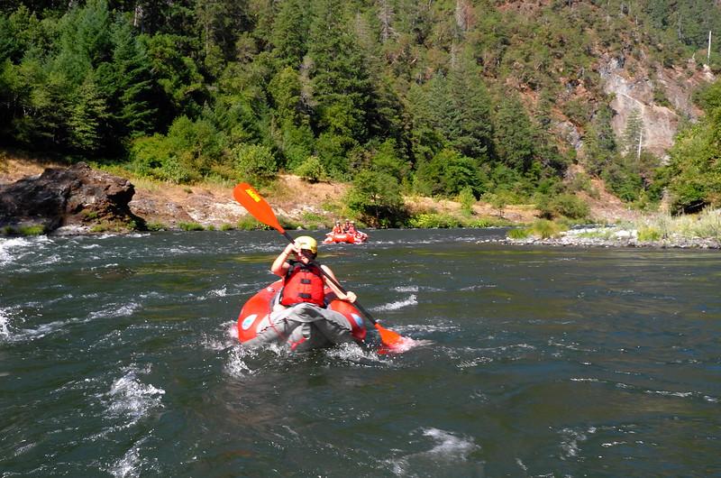 White Water Rafting the Rogue River of Southern Oregon