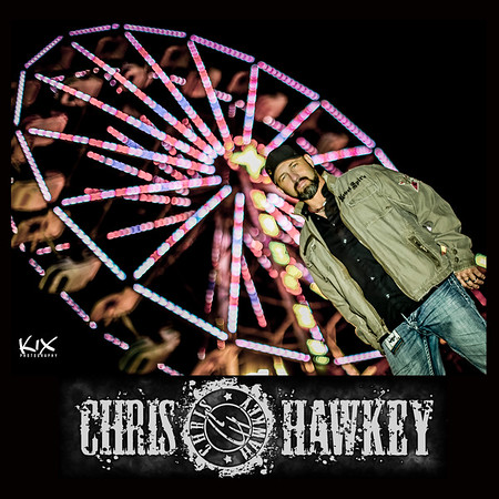 Chris Hawkey Music | Promo 2015 | Autograph Card
