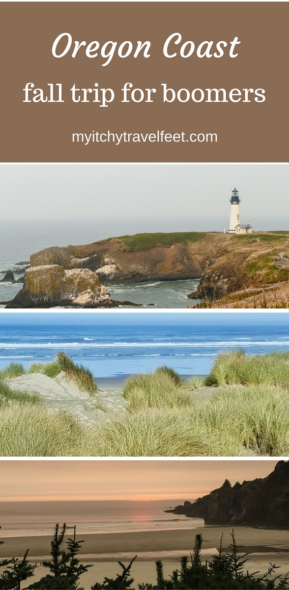 Use our travel tips to plan your Oregon coast fall trip for boomers. #Oregon #falltravel