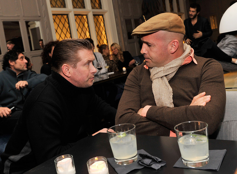 ". Actors Stephen Baldwin and Billy Zane attend the after party for the Gucci and The Cinema Society screening of ""Oz the Great and Powerful\"" at Harlow on March 5, 2013 in New York City.  (Photo by Stephen Lovekin/Getty Images)"