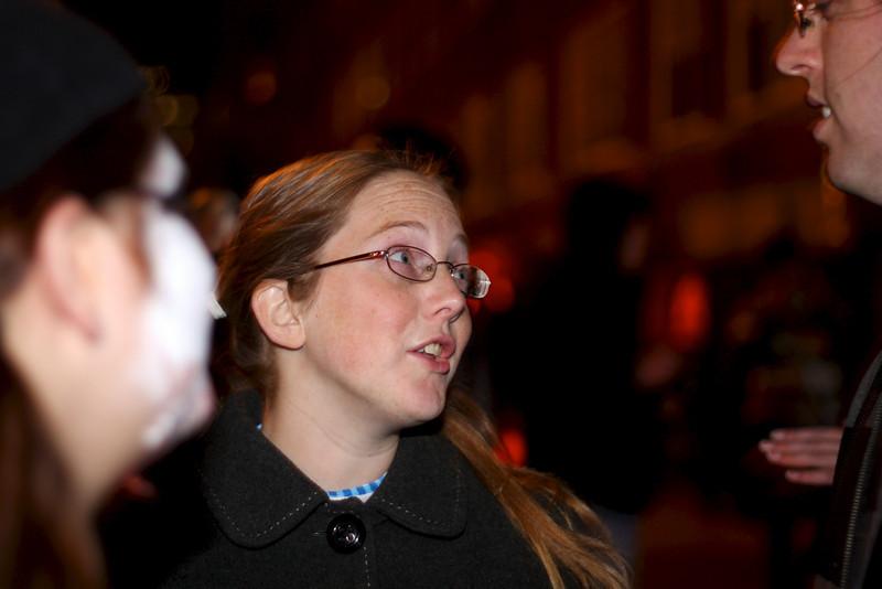 Halloween in New York City, 2010.