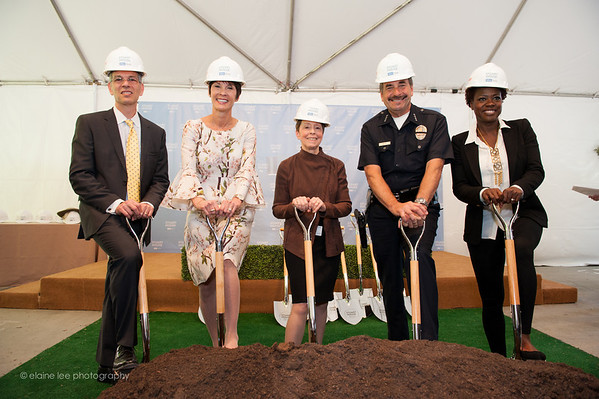 Stuart House Groundbreaking