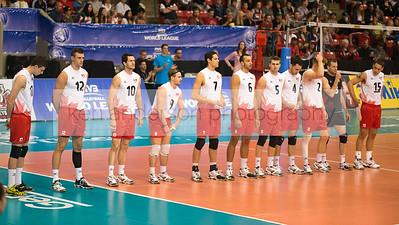 2014 FIVB Volleyball Canada vs Finland June 1 2014 Calgary