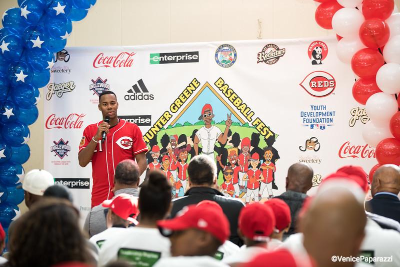 2018 Hunter Greene Baseball Fest Hosted by Rockstars Baseball Club  www.rockstarbaseball.com  #rockstarnation  Photo by Venice Paparazzi