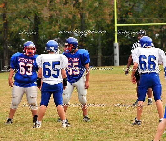 Westside VS Eastbrook 7th grade 22 Oct 09