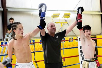 Riley Fraser vs Dakota Carpenter at Muay Thai Fight Night