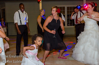 Heather & Khalfani Dancing