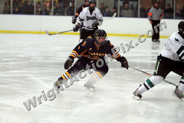 2010 01 16 Clarkston Hockey vs Lake Orion