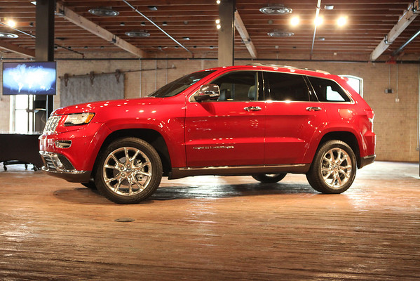 2014 Jeep Grand Cherokee Launch in Austin TX - Thursday February 21st, 2013
