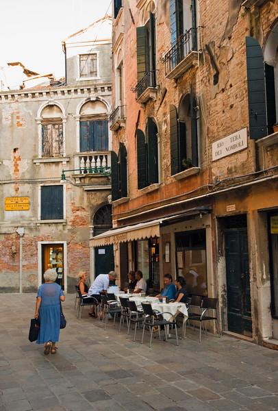 Street Scene, San Polo District, Venice, Italy