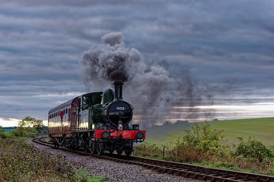 Mid-Hants Railway Steam Gala: October 2014.