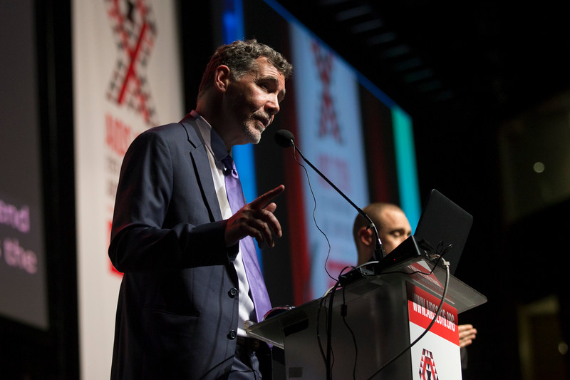 21st International AIDS Conference (AIDS 2016), Durban, South Africa. Rapporteur & Closing Session (FRPL0208) Closing remarks  Chris Beyrer, Johns Hopkins University, United States, 22 July, 2016. Photo©International AIDS Society/Rogan Ward