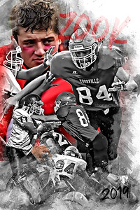 2019 Zook Football Poster