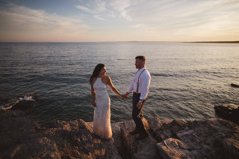 Kasey & Chris - Wedding in Rhode Island