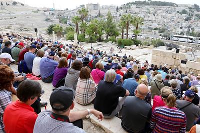 Southern Steps, Western Wall, Jerusalem, Herodium 3-13-16