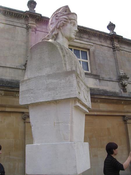 Atatue, Roman Baths,  Bath