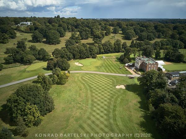 Above the Richmond Golf Club