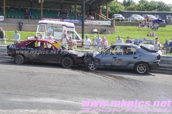 2L Bangers ORCi 2014 World Final, Hednesford, 18 May 2014