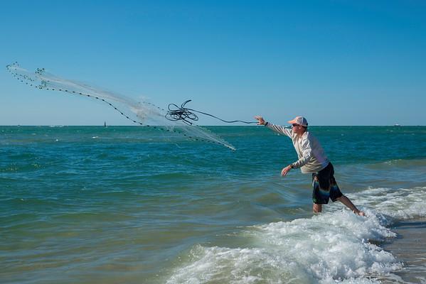 Mullet Fisherman, Stewart