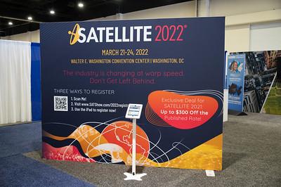 Expo - Via Satellite Booth