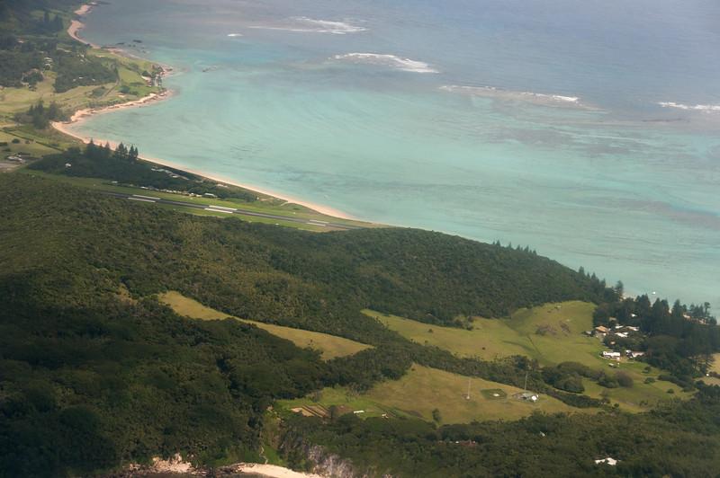 Aerial view of Lord Howe Island, Australia