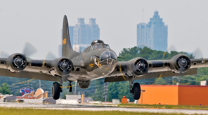 B-17, The 'Movie' Memphis Belle visits PDK Airport, 6/9/2012