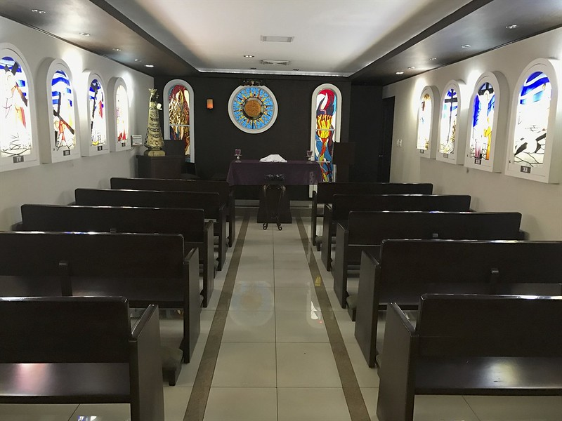 Welcome to the Tocumen International Airport chapel.