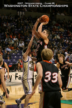 2007 State 2B Boys - Napavine vs Riverside