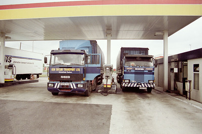 1989-07 Trucking to Italy Part 1