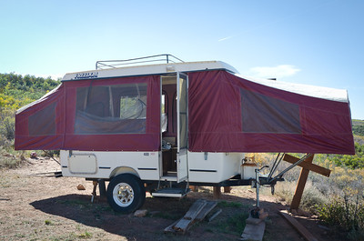 Freedom 400 Tent Trailer Project