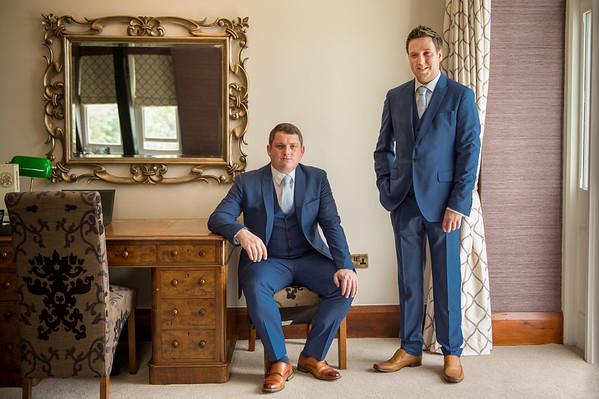 Matthew & Christopher at Stanbrook Abbey, Worcestershire.