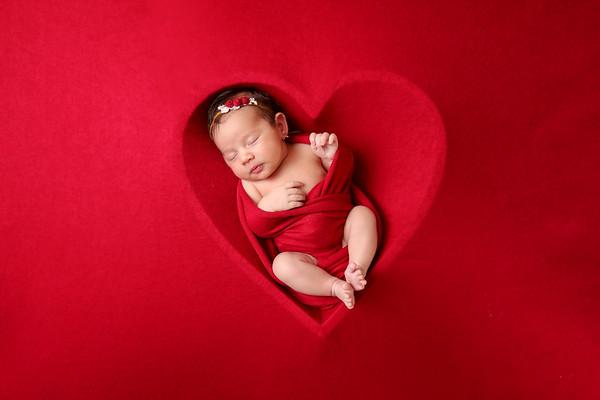 Newborn Zenaida Gabriela