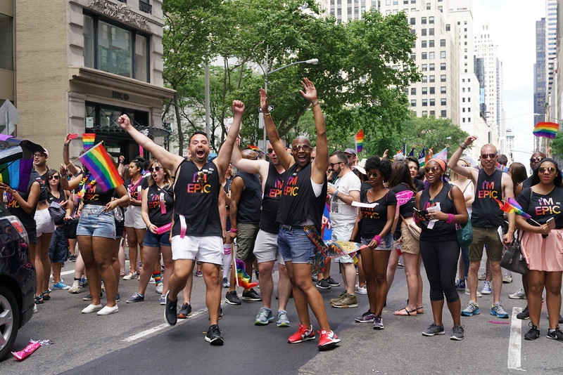 NY Pride Parade 2017